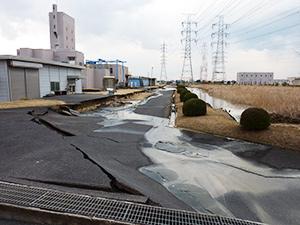 鰐川浄水場被災状況