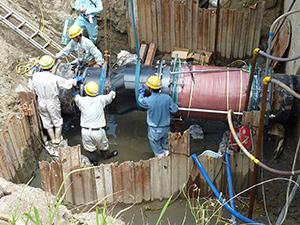 浄水場復旧状況